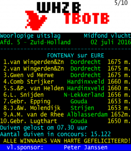 "Teletekst Fortenay door ""Super 50"""